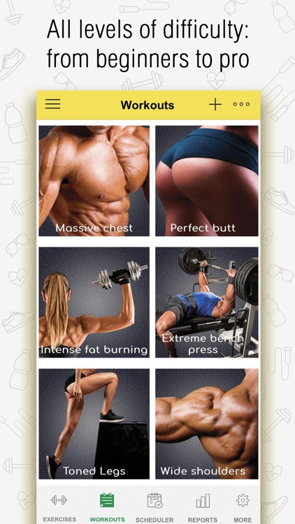 Fitness: Workout for Gym|Home screenshot-6