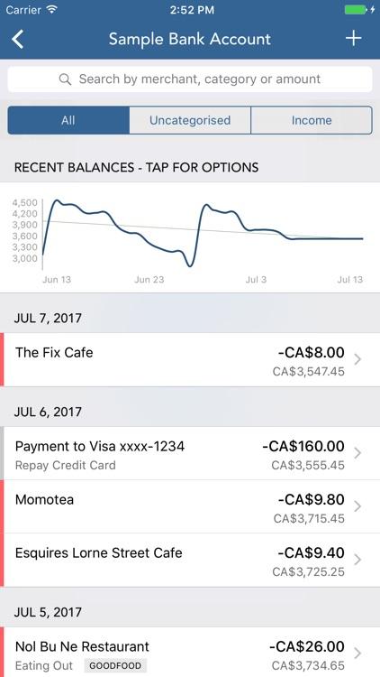 PocketLion for PocketSmith Personal Finance/Budget