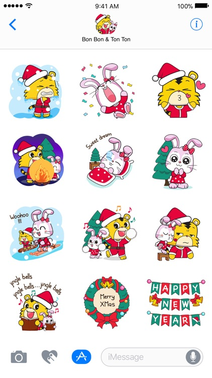 Xmas Time -Christmas Sticker screenshot-3