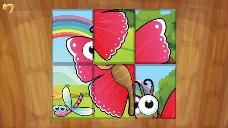 Insects Puzzle Games for Kids