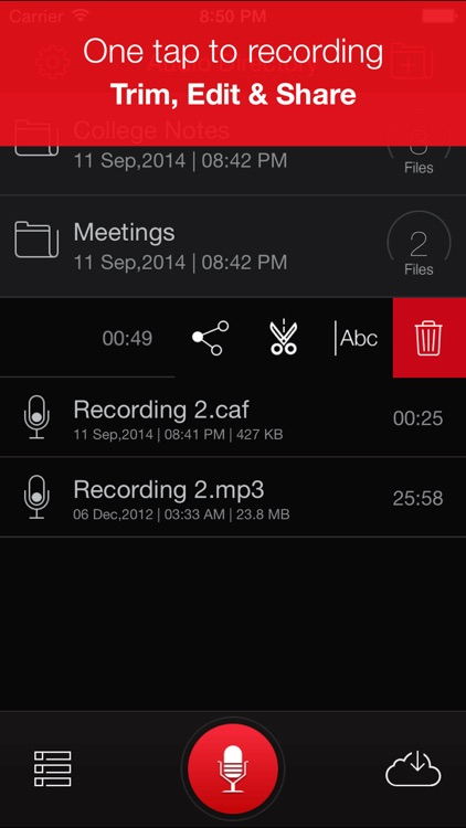 Recorder Plus : Voice Recorder screenshot-0