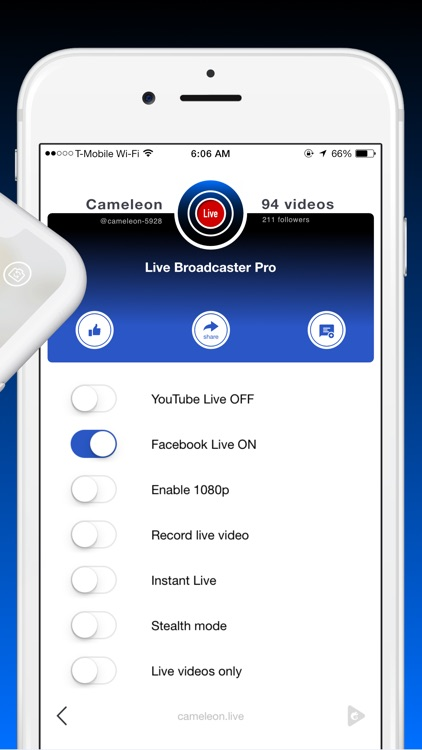 Live Streaming + screenshot-3