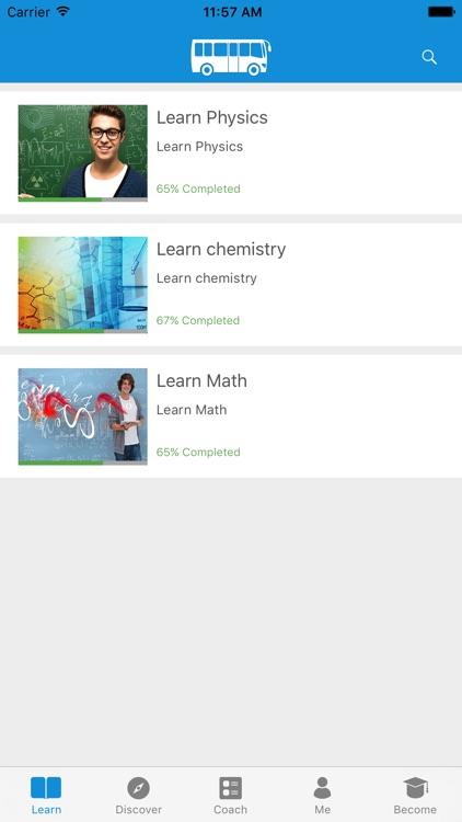 Learn Physics,Chemistry & Math