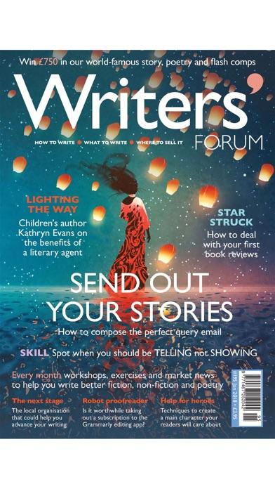 Writers' Forum Magazine screenshot1