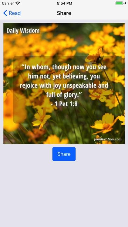God's Daily Wisdom - Lite