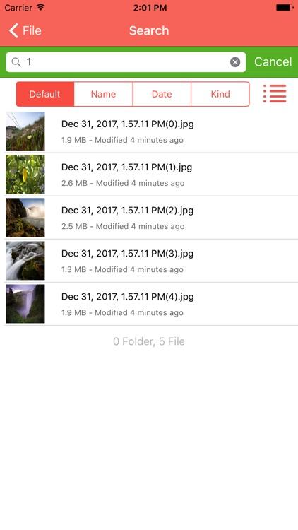 FTP Box - SFTP FTPS FTP Client screenshot-4