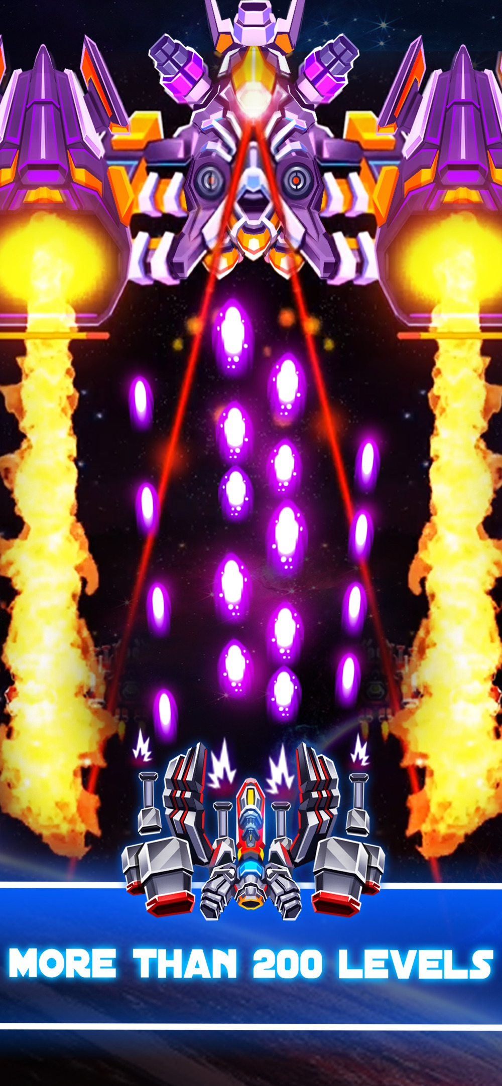 Galaxy Combat: Space shooter Cheat Codes
