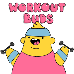 Ícone do app Workout Buds
