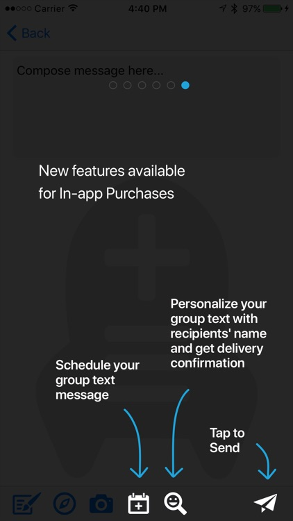 Custom Group Text screenshot-4