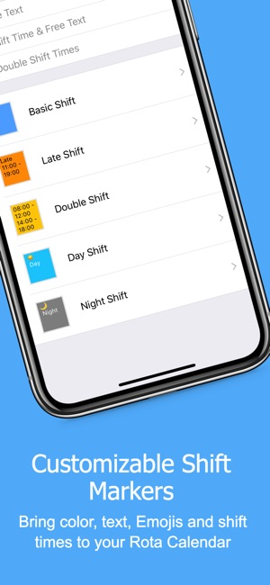 Rota Calendar On The App Store