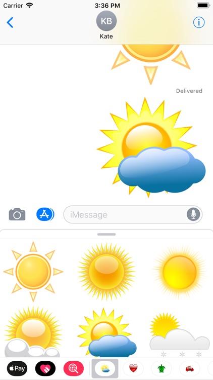 My Weather Sticker Pack screenshot-4