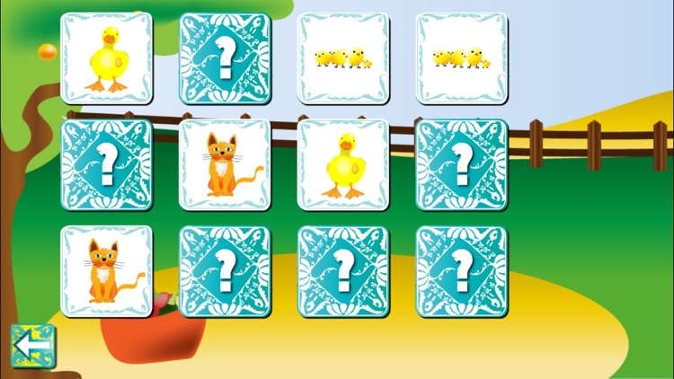 Farm Animal Pairs Game PRO