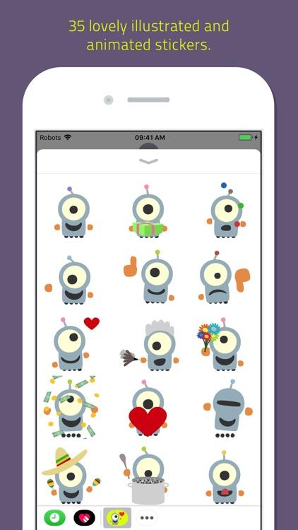 Emoji Bots animated