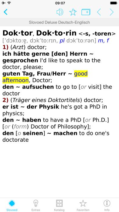 Englisch <> Deutsch Wörterbuchのおすすめ画像3