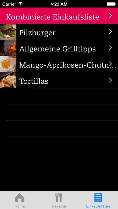 Screenshot for Vegan Grillen in Germany App Store