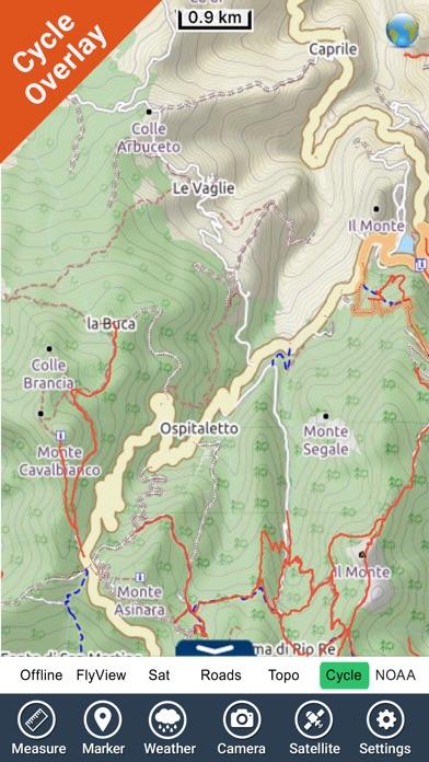 Appennino Tosco-Emiliano NP GPS Map Navigator-4