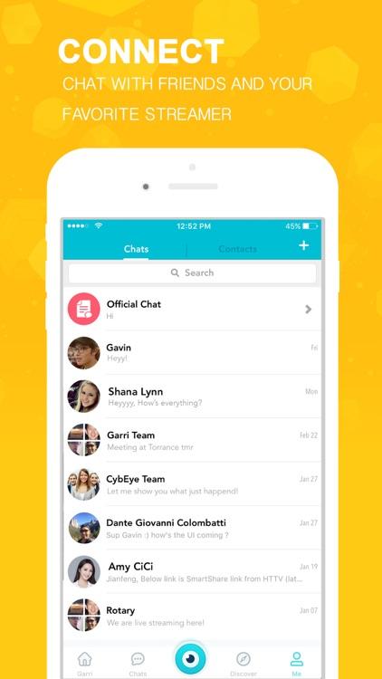Garri - Live Streaming Chat screenshot-4