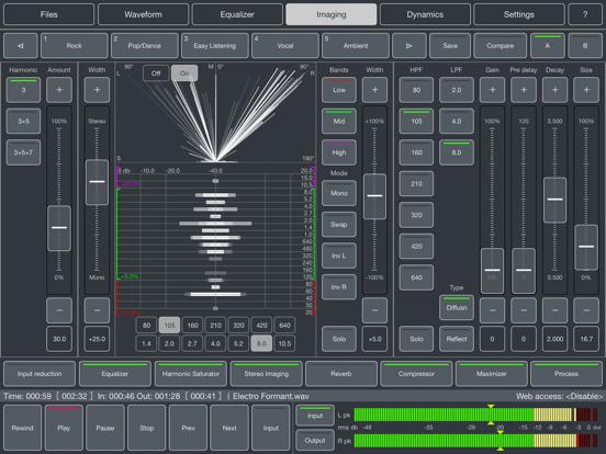 Audio Mastering Screenshots