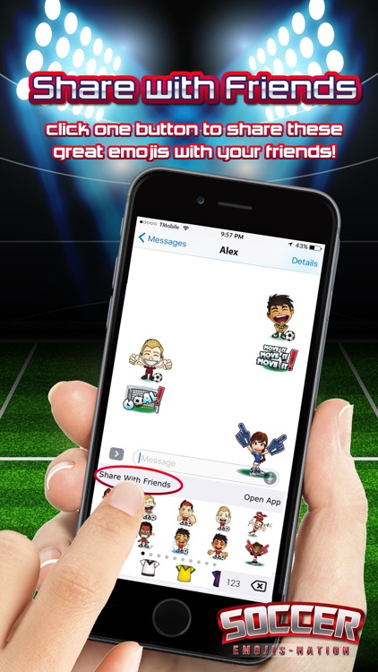 Soccer Emojis Nation screenshot-4