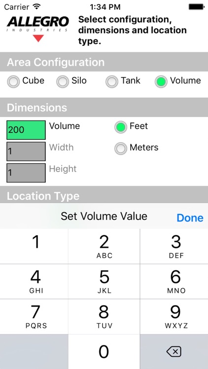 Allegro Blower Selector screenshot-3