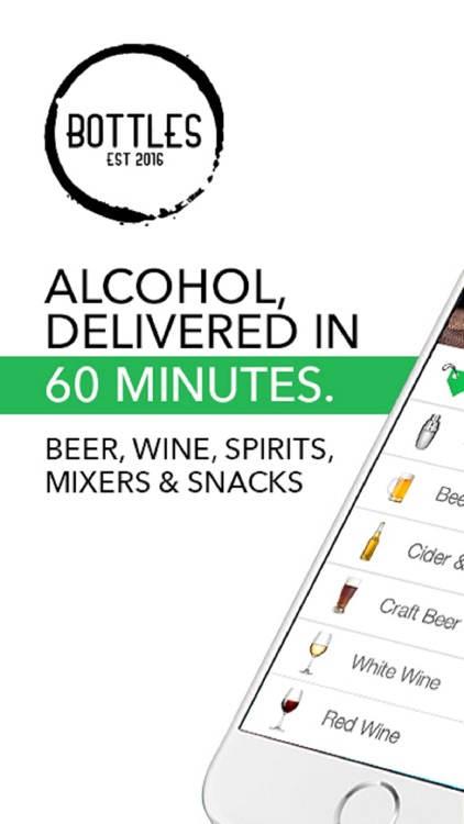 Bottles: Alcohol Delivery