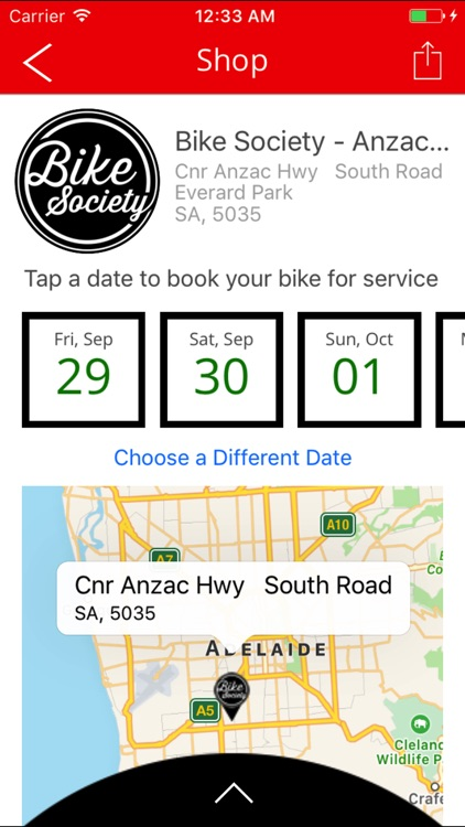 BikeSociety screenshot-2