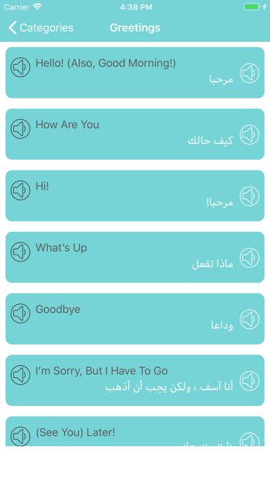 تعلم اللغة الانجليزية والعربية screenshot 2