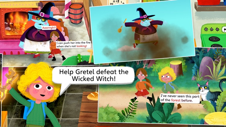 Hansel and Gretel by Nosy Crow screenshot-4