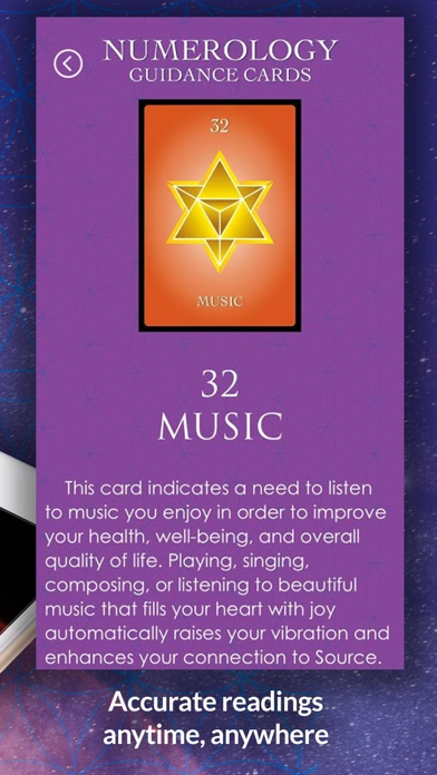 Numerology Guidance Cards screenshot 5
