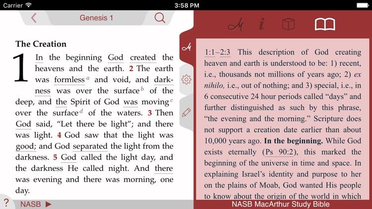 NASB MacArthur Study Bible screenshot-4
