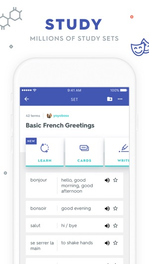 Quizlet flashcards on the app store screenshots publicscrutiny Choice Image