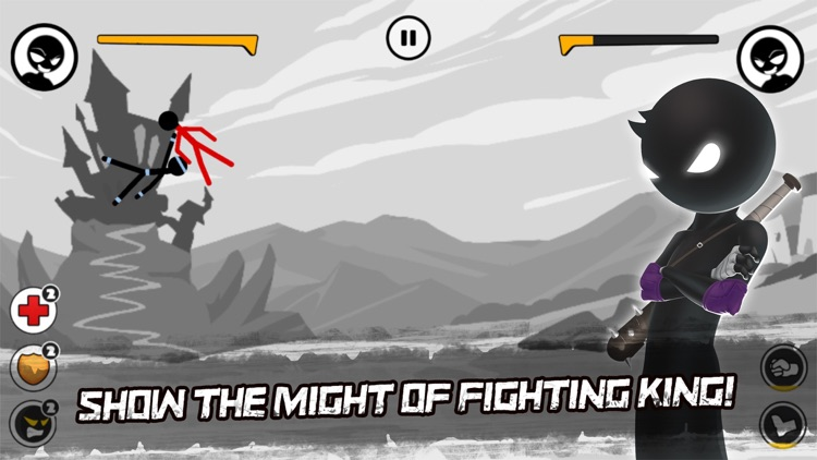 Sticked Man Fighting screenshot-3