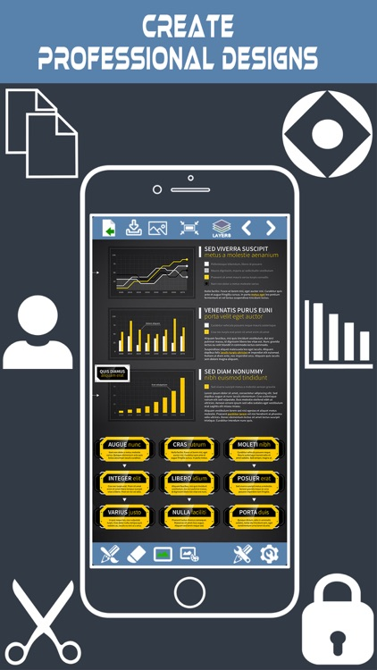 InfoGraphic and Poster Creator