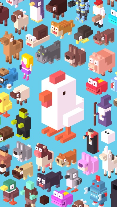 Screenshot for Crossy Road in Romania App Store