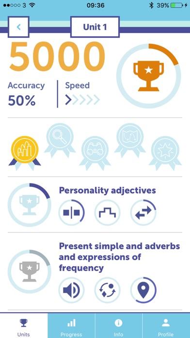 Personal Best Language App screenshot 1