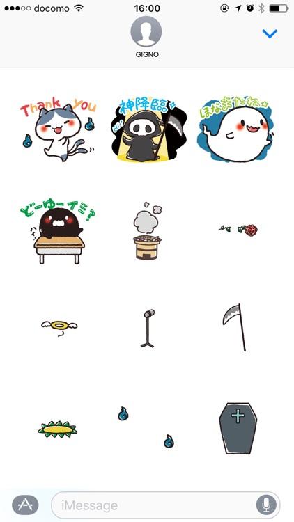 Ghost sticker set! screenshot-4