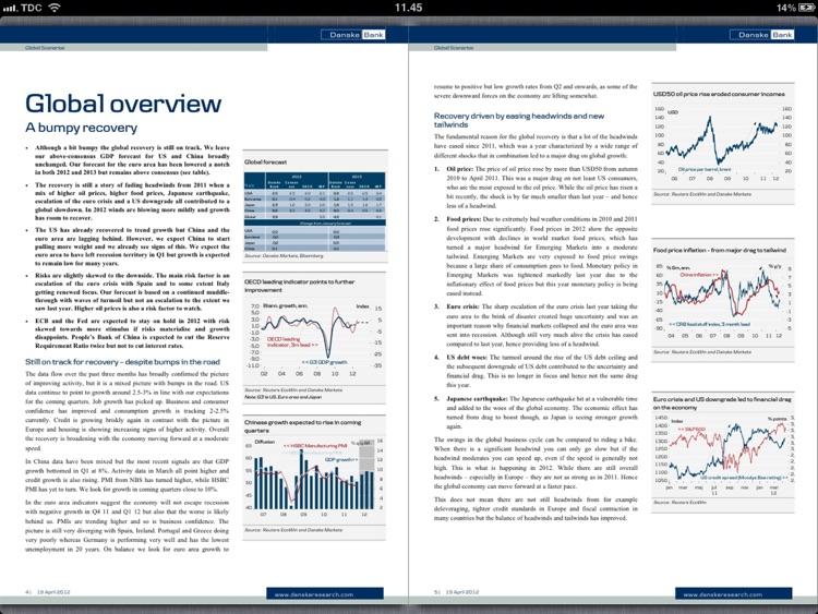 Danske Bank Research for iPad screenshot-4