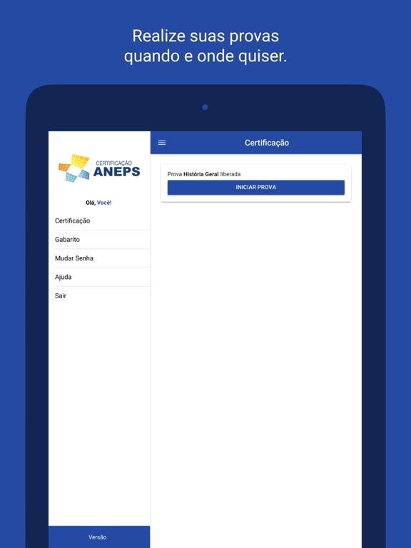 Certificação ANEPS screenshot 5