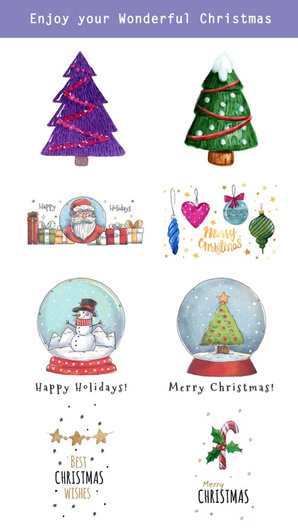 Beautiful Watercolor Christmas