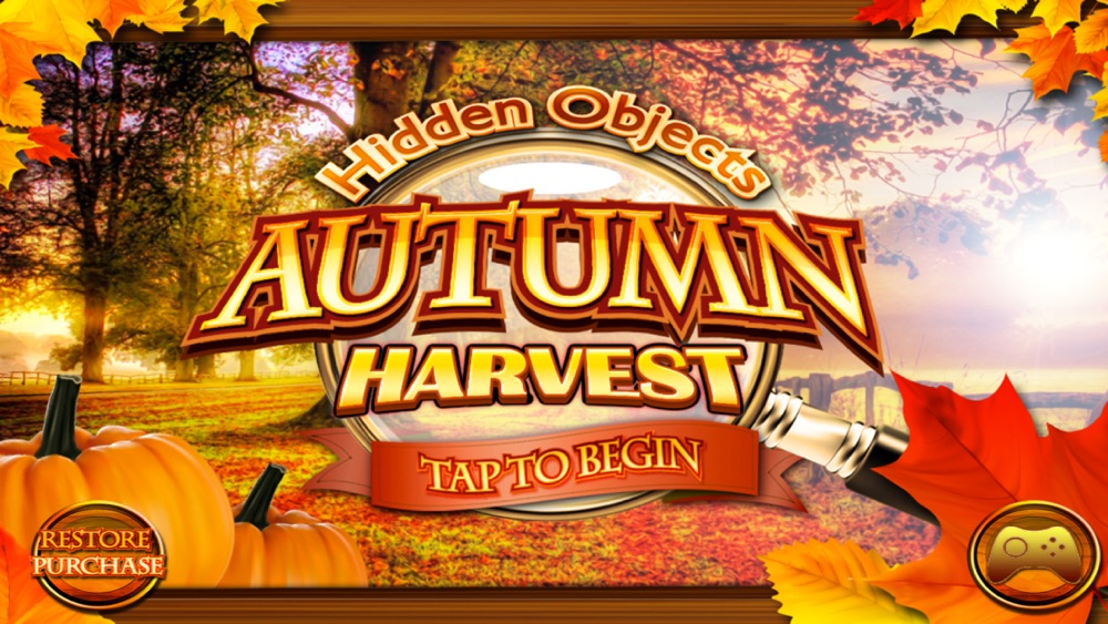 Hidden Objects Autumn Harvest & Halloween Object Cheat Codes