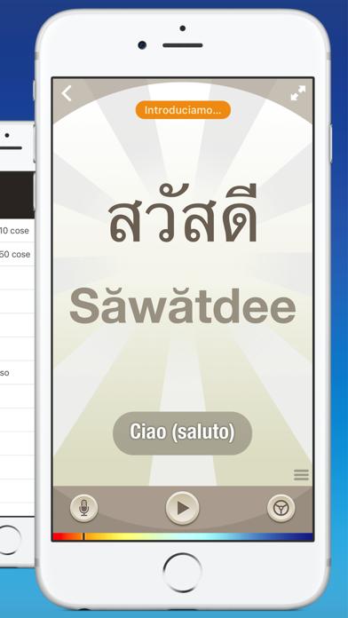 Screenshot of Tailandese — Imparare con Nemo2