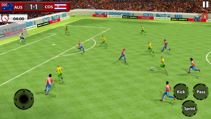 Play Soccer 2018 - Real Match Screenshot