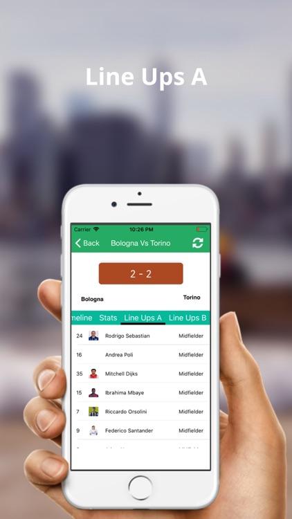 Serie A Football Live Score screenshot-7