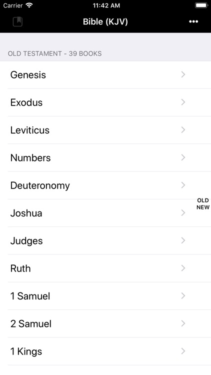 Bible(KJV) screenshot-0