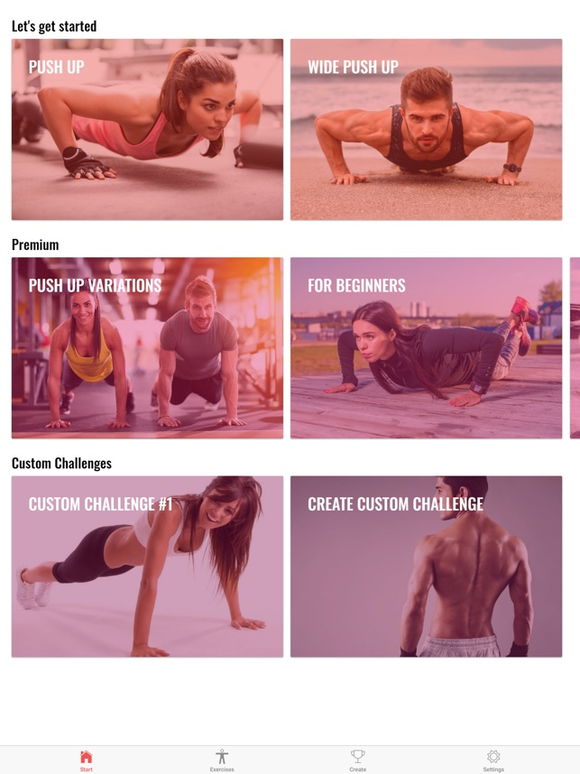 30 Day Push Up Challenge on the App Store