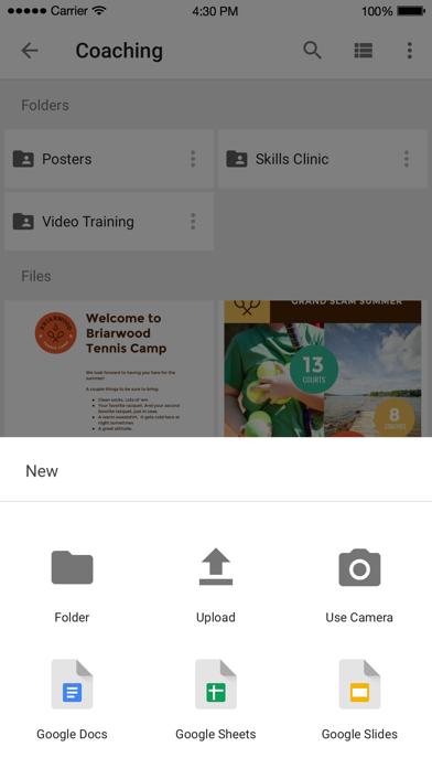 Google ドライブ - 安全なオンライ... screenshot1