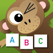 Kids learning ANIMAL WORDS
