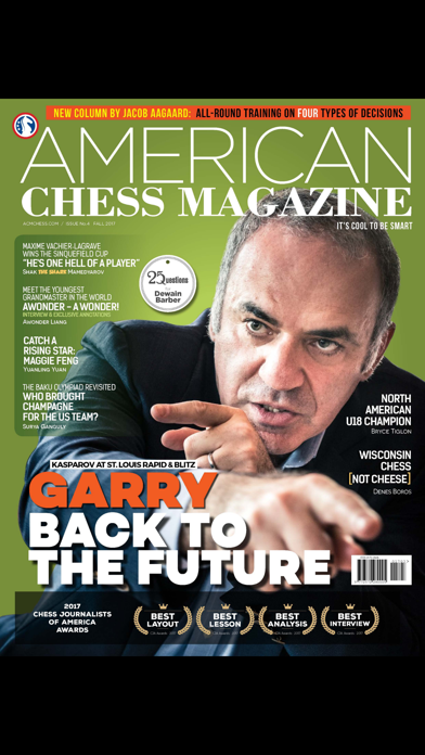 American Chess Magazine screenshot 1
