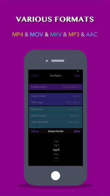 Video Converter: Format Editor screenshot-3