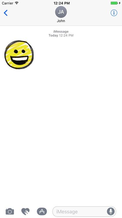Pencil drawing smiley emoji pack screenshot-4